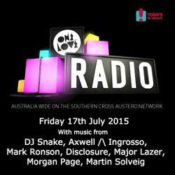 onelove radio Friday 17th July 2015