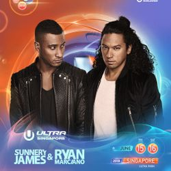 Sunnery James & Ryan Marciano LIVE @ Ultra Music Festival Singapore 2018