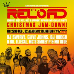 The Reload - Throwback Anthems mix by Mr Blue & Smiley P