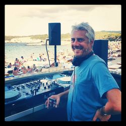 STEPHANE POMPOUGNAC /  Cala Bassa Coronita Sunset Sessions Closing / 24.08.2013 / Ibiza Sonica