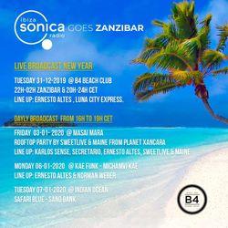 ERNESTO ALTES - NYE @ B4 BEACH CLUB - ZANZIBAR
