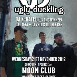 Live @ The Moon Club 21/11/12 (Ugly Duckling Support Set)