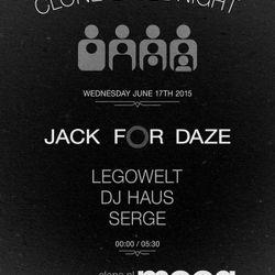 Serge @ Clone Jack for Daze — Sonar 2015
