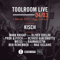 Kisch Live @ Egg London, Toolroom Live, Love & Other