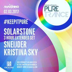 Kristina Sky Live @ Pure Trance (Exchange LA, CA, USA) [02-03-17]
