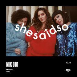 SSSO MIX 001: Menores