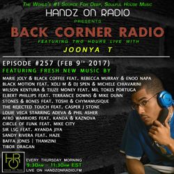 BACK CORNER RADIO: Episode #257 (Feb 9th 2017)