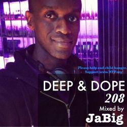 3 Hour Deep House Mix by JaBig - DEEP & DOPE 208