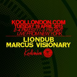 LIONDUB & MARCUS VISIONARY - 04.19.16 - KOOLLONDON [JUNGLE DRUM & BASS]