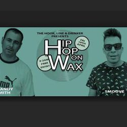 Hip Hop On Wax at the Hook, Line & Drinker, Exmouth 19.4.19 with Smoove Pt 1
