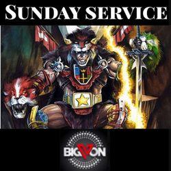 "Sunday Service "" King Voltron "" s20b"