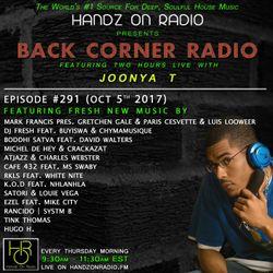 BACK CORNER RADIO: Episode #291 (Oct 5th 2017)