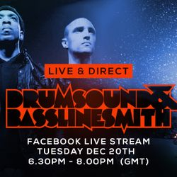 Drumsound & Bassline Smith - Live & Direct #17 [20-12-16)