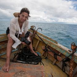 National Geographic Photographer Cristina Mittermeier talks about Sea Legacy with music by DJ MALTE