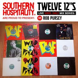 Twelve 12's Live Vinyl Mix: 55 - Rob Pursey - Mark The 45 King Special!