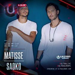 Matisse & Sadko LIVE @ Ultra Europe 2016 - Day 2