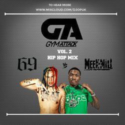 Gym Attack Workout Mix (Vol 2) - 6ix9ine Vs Meek Mill - (@DJ O.P)