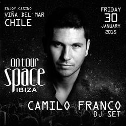 Camilo Franco DJ Set - Space Ibiza On Tour @ Enjoy Casino (Viña del Mar, Chile)