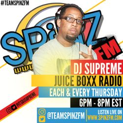 DJ Supreme Juice Boxx Radio - HIP HOP | GRIME | THROWBACK HIP HOP & R&B