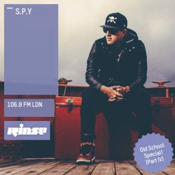 S.P.Y. (Hospital Records, Metalheadz) @ Old School Special, Rinse.fm 106.8 FM - London (30.03.2016)