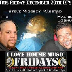 A Night @ Revelation's/I Luv House Music Fridays - 20 December 2013