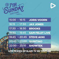Joris Voorn LIVE @ 7th Sunday Festival 2018