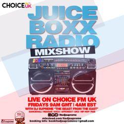 Juice Boxx Radio - DJ Supreme M2