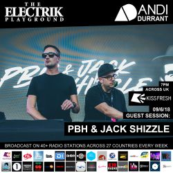Electrik Playground 9/6/18 inc. PBH & Jack Shizzle Guest Session