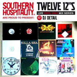 Twelve 12's Live Vinyl Mix: 37 - DJ Detail – Large Professor Special