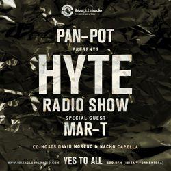 Pan-Pot - Hyte on Ibiza Global Radio Feat. Mar-T - August 31