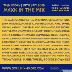 The MaxK-Show on Soulmix - 10/07/2018 | The Real Extra-Time