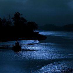 Floating Through Moonlight