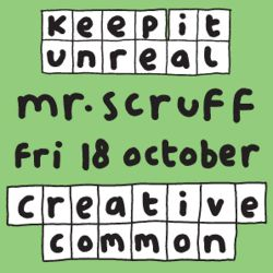 Mr Scruff Creative Common DJ Set, Bristol, Friday 18th October 2013