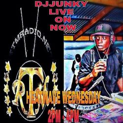 DJJUNKY HEATWAVE WEDNESDAY 2PM - 4PM ON @RTMRADIO_NET LIVE AUDIO VOL.12