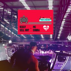 Kissy Sell Out + MC Cobra LIVE @ Ministry Of Sound Stage, Ibiza Legends 2017