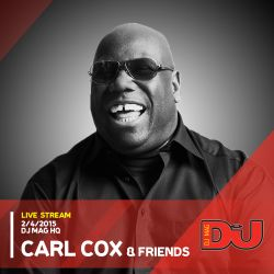 Carl Cox w/ Jon Rundell & Joe Brunning from DJ Mag HQ 2/4/2015