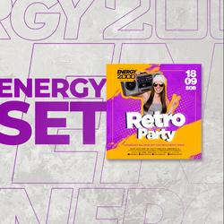 Energy 2000 (Katowice) - RETRO PARTY (18.09.2021)