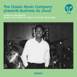 Business As Usual May 2018: Luke Solomon + Special Guest Black Loops