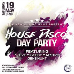A Night @ the Dating Game: The Firm presents Disco Day Party - 19 May 2018