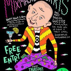 Mixmaster Morris @ Apples & Pears Bar 5/6/14 pt2
