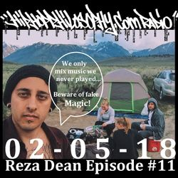 Reza Dean Episode #11 - HipHopPhilosophy.com Radio - 02-05-18