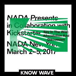Nada Presents : Spy In The Wild; Allocution and Discussion Presented with CARNE Gallery - 3/4/17