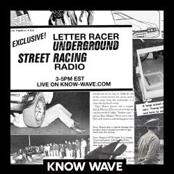 """Letter Racer Radio """"Icarus"""" video - March 22nd, 2017"""