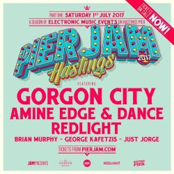 2017.07.01 - Amine Edge & DANCE @ Pier Jam, Hastings, UK