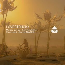 Nico Stojan & Holmar Filipsson (from Thugfucker) aka Lovestruckk - Robot Heart - Burning Man 2016