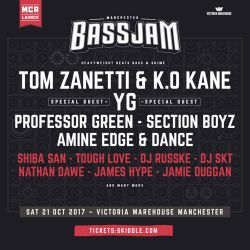 2017.10.21 - Amine Edge & DANCE @ Bass Jam - Victoria Warehouse, Manchester, UK