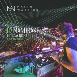 Mandrake - Mayan Warrior - Burning Man - 2017