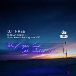 DJ Three - Robot Heart - Burning Man 2016