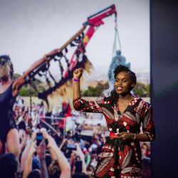 Living sculptures that stand for history's truths | Sethembile Msezane