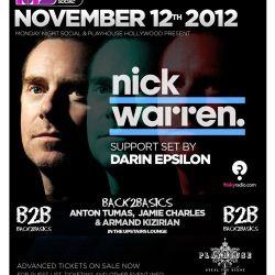 Darin Epsilon - Live at Monday Night Social w/ Nick Warren [Nov 12 2012]